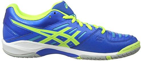 Asics Gel-Fastball, Scarpe Sportive, Uomo Blue/Flash Yellow/Aqua Blue 4204
