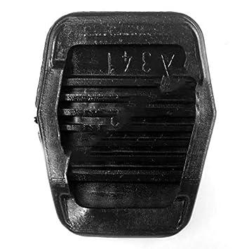 KNOSSOS 2 Piezas de Rotura del Pedal del Embrague Almohadillas de Goma para Ford Focus Mk2 Mk3 C-MAX Kuga Negro - Negro: Amazon.es: Hogar