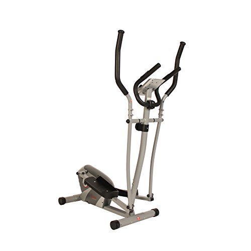 Sunny Health & Fitness Magnetic Elliptical Trainer by SF-E3628 Magnetic Elliptical Trainer, Gray SF-E3628