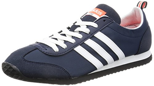 Adidas Vs Jog Tenis para Hombre Navy Talla 43 1/3 - USA 9,5 - UK 9