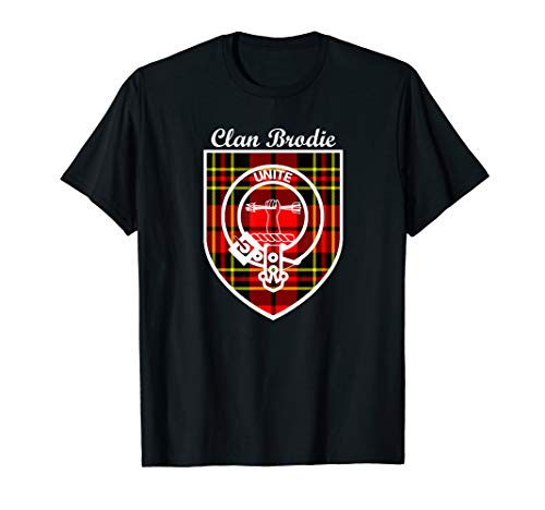 Brodie surname last name Scottish Clan tartan badge crest ()
