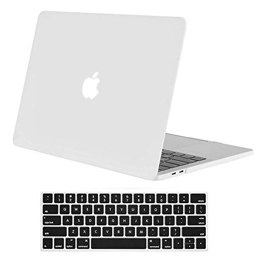 - Skyera 13 Inch MacBook Pro Case/Keyboard Cover- Plastic Rubber Cases for Apple MacBook Pro 13 Inch with/Without Touch Bar and Touch ID- Laptop Covers for Apple A1989, A1706, A1708, 2016-2019 Release