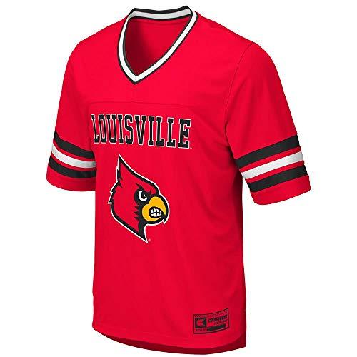 Colosseum Mens Louisville Cardinals Football Jersey - M