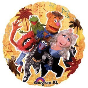 (Anagram International Muppets Foil Package Balloon, 18