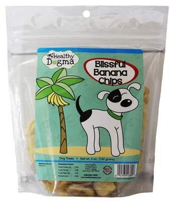 Healthy Dogma Blissful Banana Crisps Treat For Dogs - 5 Oz