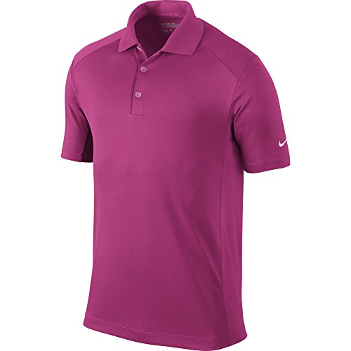 Nike Golf Men's Victory Polo Vivid Pink/White M