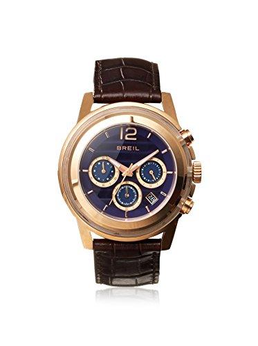 Breil Watch, Men's Chronograph Orchestra Brown Croc Leather Strap 45mm TW1192