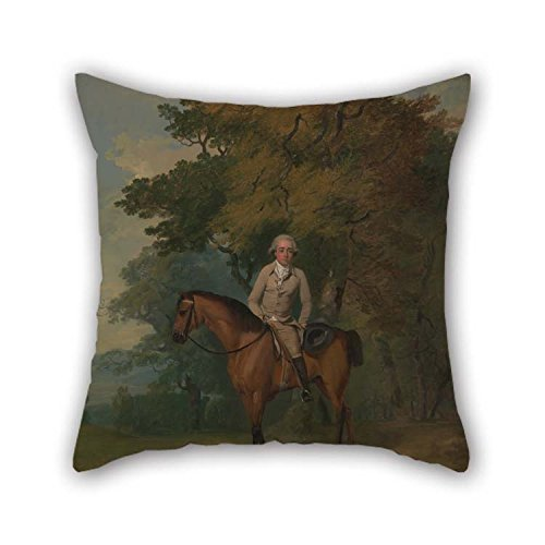 The Oil Painting Francis Wheatley - Henry Addington, Later 1st Viscount Sidmouth Throw Pillow Covers of 20 X 20 Inches / 50 by 50 cm Decoration Gift for Bedroom Her Home Theater Floor Divan Birthd