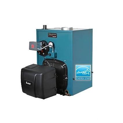 PV8H4, 95, 000 BTU Output V8H Steam Boiler w/o Tankless Coil w ...