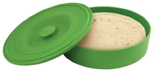 (Fox Run 3934 Tortilla Warmer, Plastic, Green)