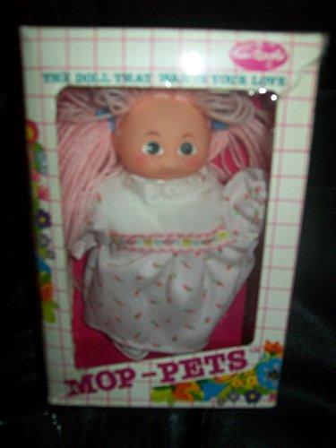 Vintage 8' Doll - Vintage Mop Pets Pink Hair 8' Doll