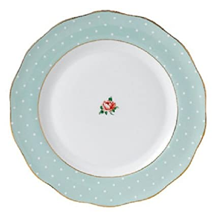 Royal Albert Polka Rose Vintage Dinner Plate 27cm  sc 1 st  Amazon.com & Amazon.com | Royal Albert Polka Rose Vintage Dinner Plate 27cm ...
