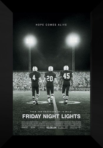 Friday Night Lights FRAMED Movie Poster: Tim McGraw
