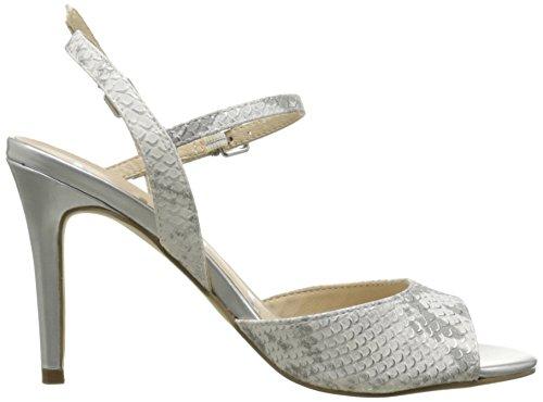Elle Cannes - Zapatos de vestir Mujer Plata