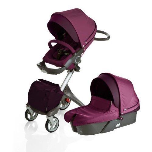 Stokke Xplory Newborn Stroller Purple