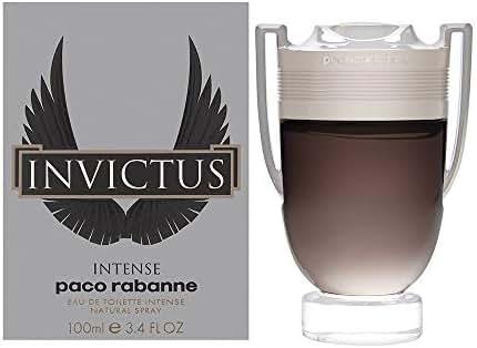 Invictus Intense by Paco Rabanne for Men - 3.4 Fl Oz EDT Spray
