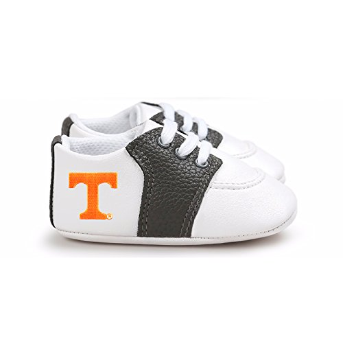 (Future Tailgater Tennessee Volunteers Pre-Walker Baby Shoes - Black Trim)