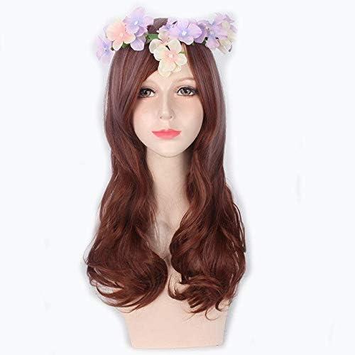 Moda sexy larga Lolita peluca Cosplay disfraz pelo sintético ...