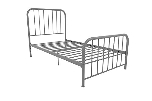 Novogratz Bellamy Metal Bed -  - bedroom-furniture, bed-frames, bedroom - 41fqRujk8CL -