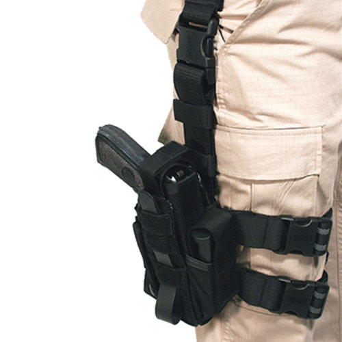 (BLACKHAWK! Omega VI Ultra Universal Modular Light Holster, Black)