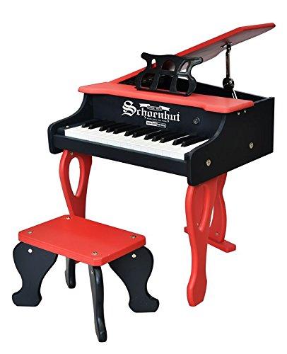 Schoenhut 30 Key 2 Tone Baby Grand Red/Black