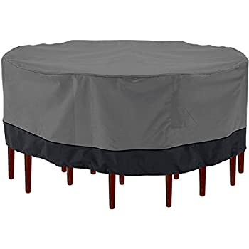 Amazon.com : North East Harbor Outdoor Patio Furniture ... on Patio Cover Ideas For Winter id=19293