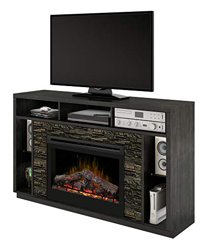 Cheap DIMPLEX Joseph Media Console Electric Fireplace with Logs Black Friday & Cyber Monday 2019