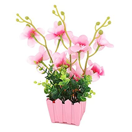 Amazon.com: eDealMax La Flor Artificial de la decoración de ...
