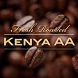 Kenya AA Karundul Coffee Beans Finest Auction Lot (Medium Roast (Full City +), 15 pounds Whole Beans)