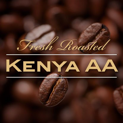 Kenya AA+ Karundul Coffee Beans Finest Auction Lot (Medium Roast (Full City +), 10 pounds Whole (10 Lot Blackberry)