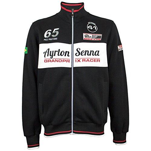 Ayrton Racer Grand Prix Senna Felpa rfCrq