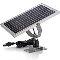 12V Waterproof Solar Battery Trickle Cha...