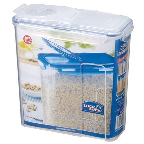 Lock & Lock Rectangular Storage Container,Clear, 3.9 L HPL951