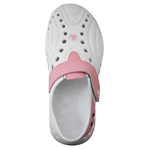 DAWGS White Womens Spirit Golf Shoe Pink Soft DAWGS Walking Womens 6PZwdqd