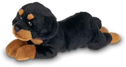 Bearington Gunner Rottweiler Stuffed Animal