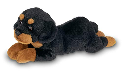 Bearington Lil' Gunner Small Plush Rottweiler Stuffed Animal Puppy Dog, 8 inches (Best Toys For Rottweiler Puppies)