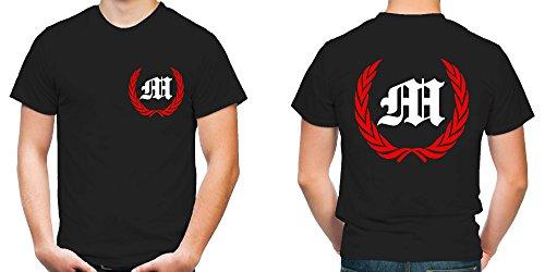 München Kranz T-Shirt | Liga | Trikot | Fanshirt | Bundes | M1-Rot