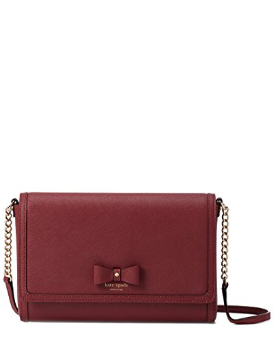 Alek Court Kate Crossbody Hazel Leather Spade Merlot Bag qREEtw4S