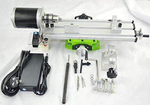 Hengwei AC 220V 480W Mini Lathe Machine DIY Wood Lathe Mini Bench Drill for Wood Plastic by Hengwei (Image #5)