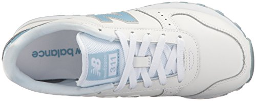 New Balance Women's 311 Lifestyle Fashion Sneaker White/Porcelain Blue wholesale online new arrival sale online outlet with paypal order online QxSjGG7XP