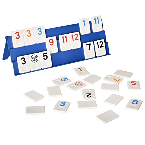 Point Games: Full Size Rummy Game with 3 Tier Exclusive Boards in Super Durable Travel Bag