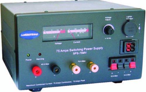 Ameritron SPS-75MV Switching Power Supply, 13 8V, 75A