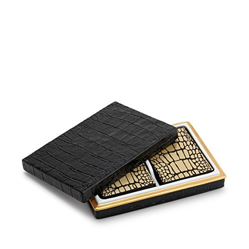 L'Objet Crocodile Box with Playing Cards (2 -