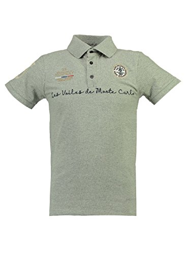 Geographical Gris Polo Clair Homme Kolostar Norway rFrWBqIH