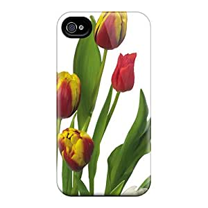 High-quality Durability Case For Iphone 4/4s(tulips Multi)