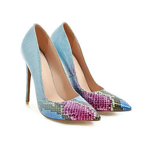 Balamasa Sandali Con Zeppa Eu 35 blue Blu Donna Apl10901 UZrUnFp