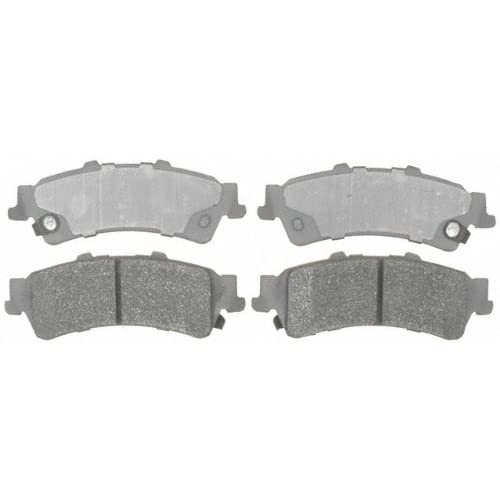 Disc Brake Pad Set-Semi Metallic Disc Brake Pad Front,Rear ACDelco Advantage