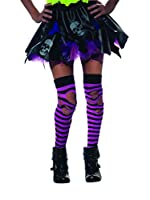 Ripped Striped Thigh High Costume Accessory