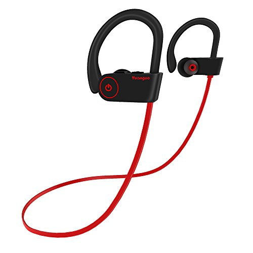 Price comparison product image Bluetooth Headphones, Sports Wireless Headphones Earbuds, Muzili Y2 In-Ear Bluetooth Earbuds w/ Mic IPX7 Waterproof HD Stereo Sweatproof Headphones Noise Cancelling Earphones for Gym Running Workout