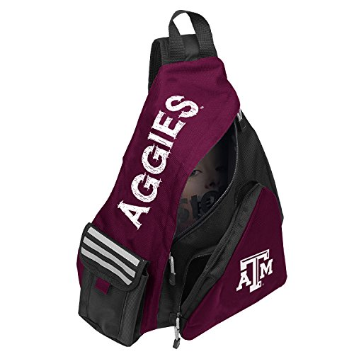 - Officially Licensed NCAA Texas A&M Aggies Leadoff Slingbag